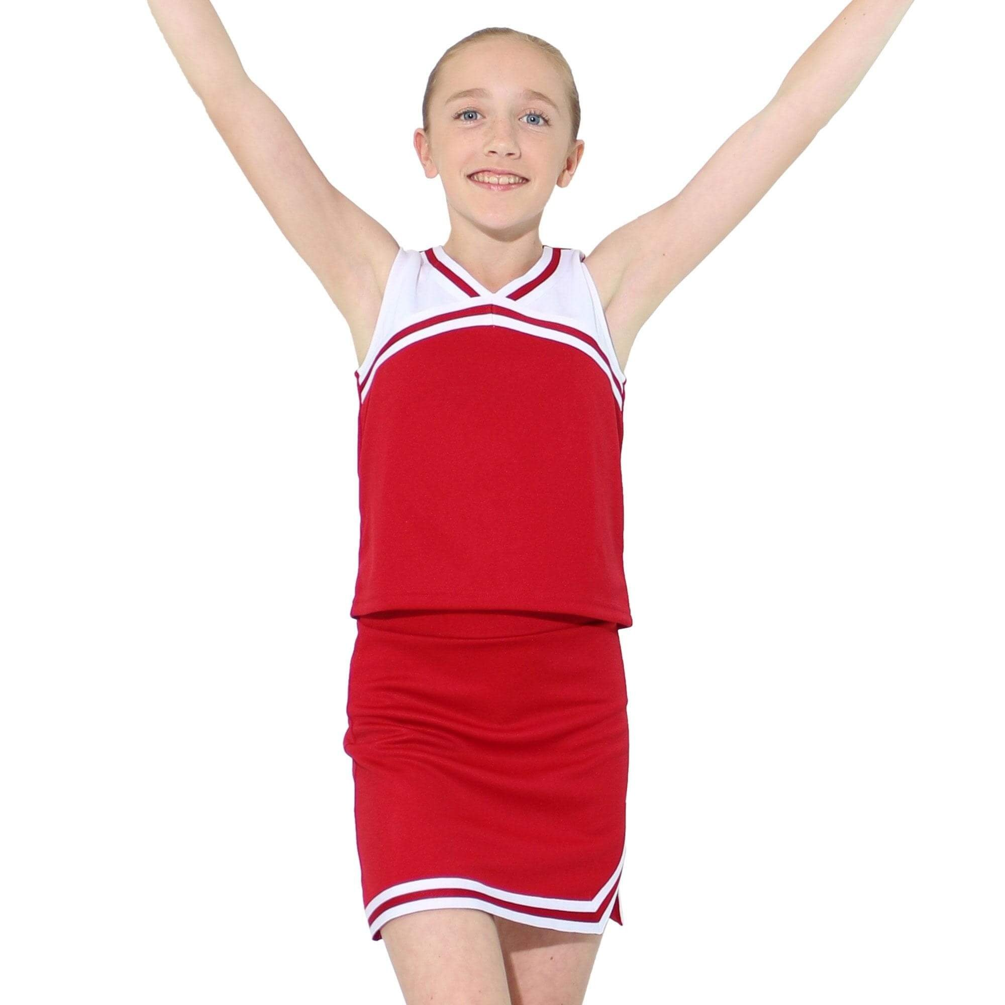 Danzcue Child Classic Cheerleaders Uniform Set