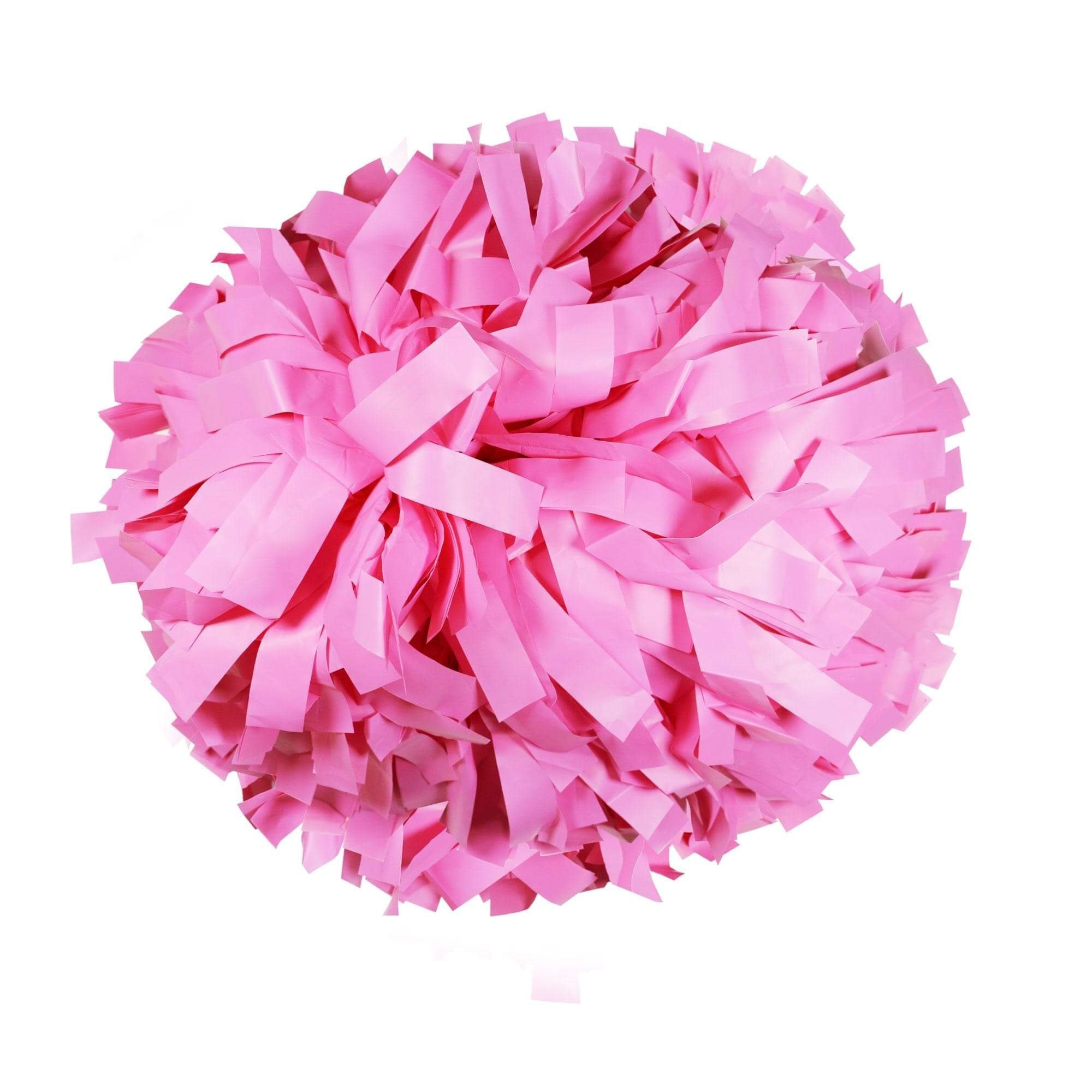 Danzcue Neon Pink Plastic Poms - One Pair