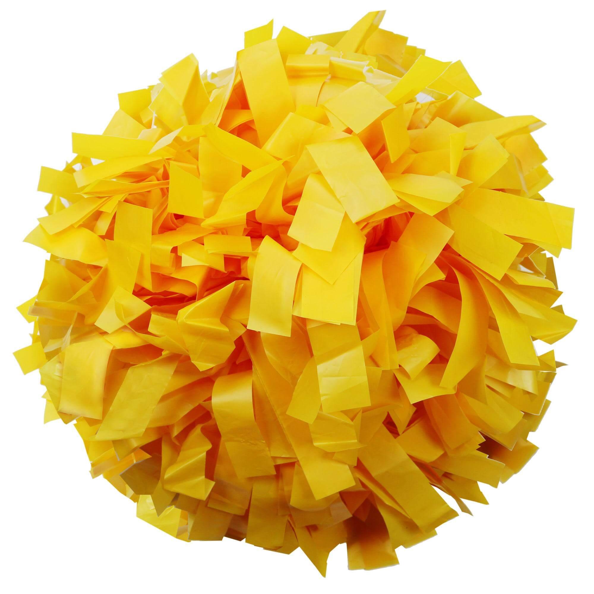 Danzcue Gold Plastic Poms