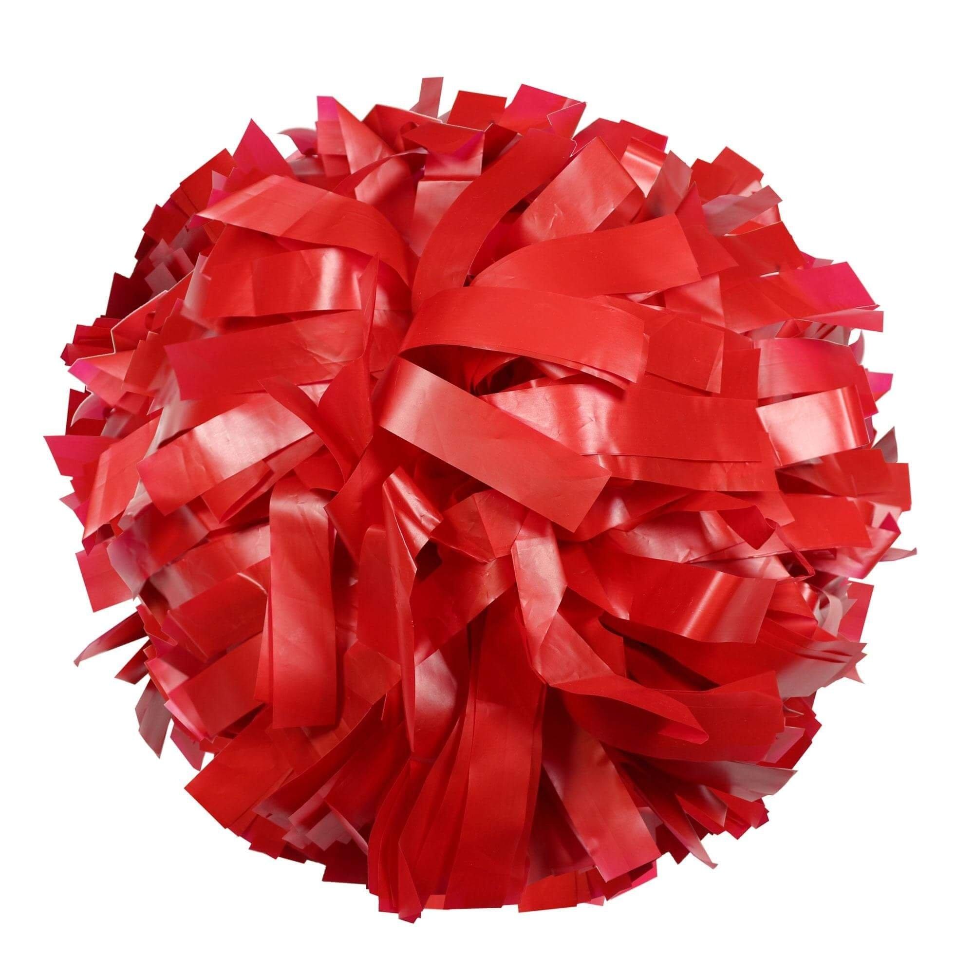 Danzcue Red Plastic Poms