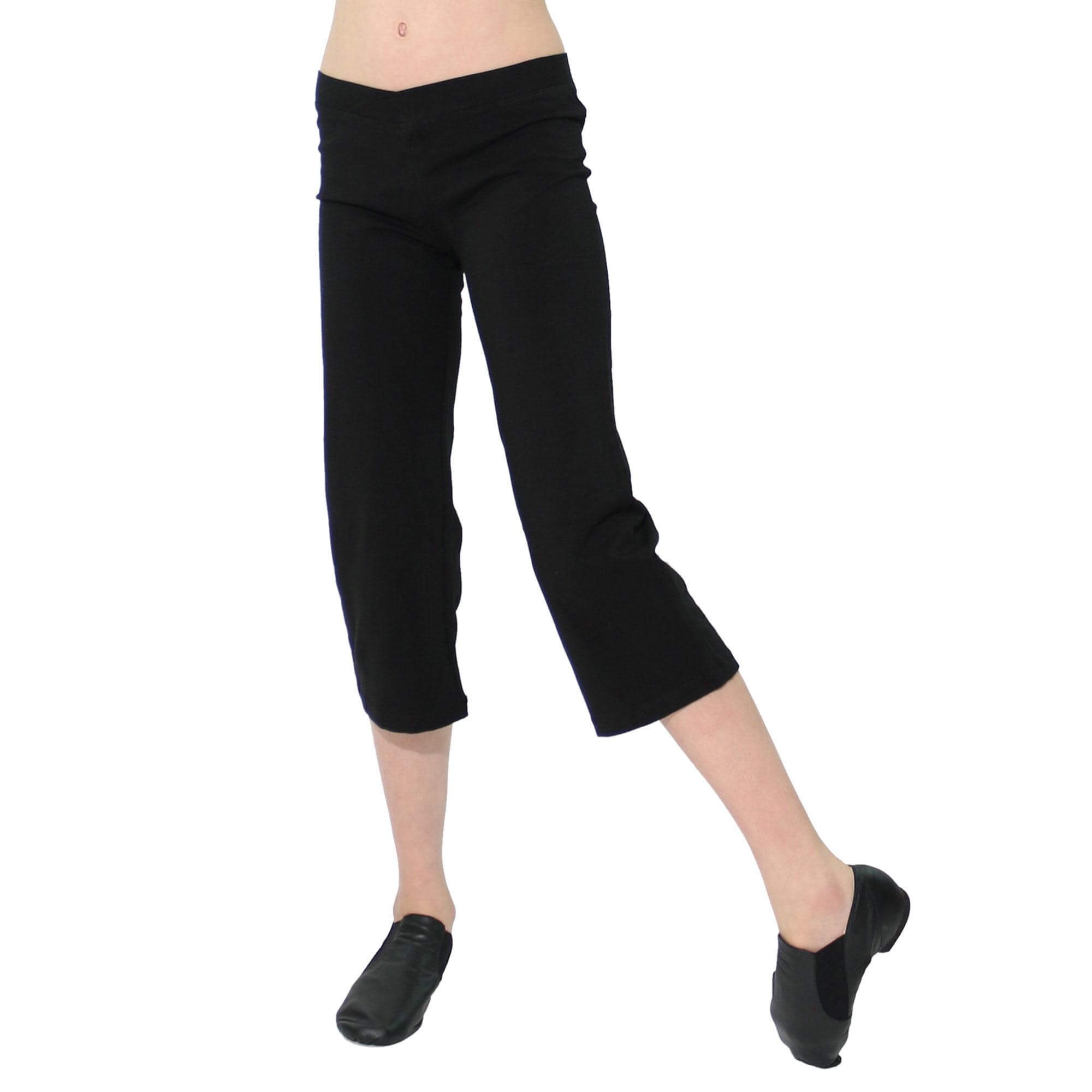 Danzcue Child V-Front Waist Jazz Capri