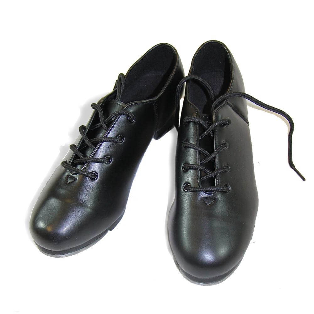 Danzcue Child Leather Upper Tap Shoes