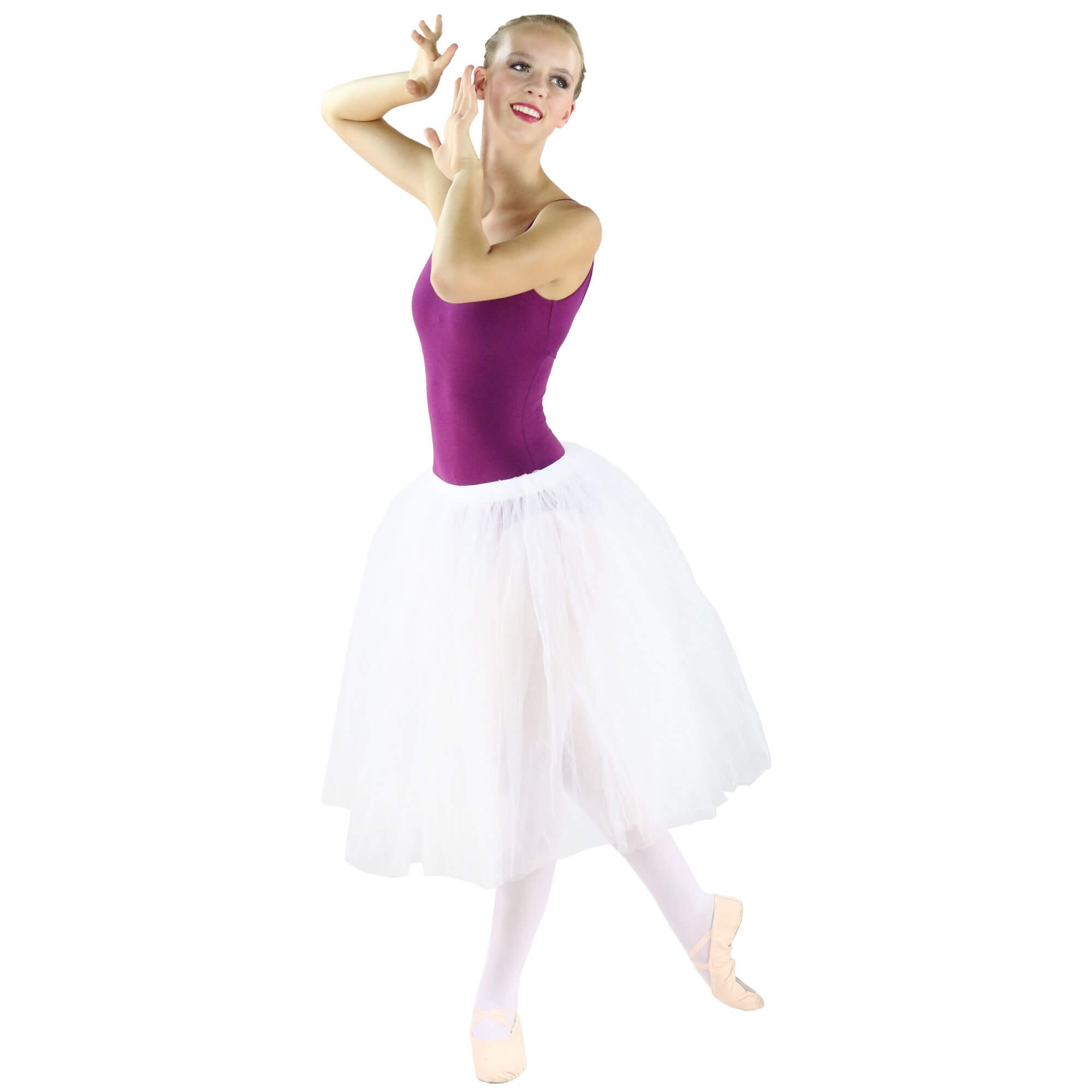 Danzcue Ladies Long Soft Ballet Tutu Skirt