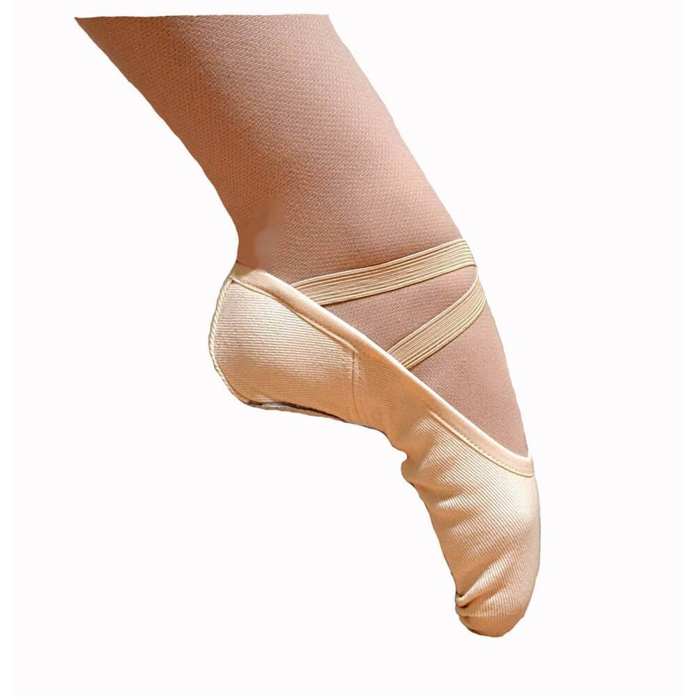 Fuzi Split Sole Stretch Canvas Ballet Dance Slipper