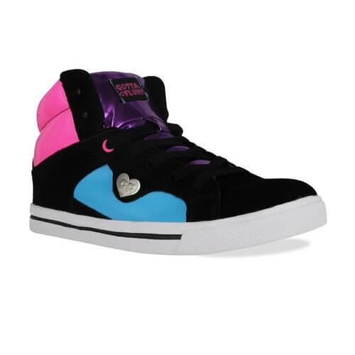 Gotta Flurt Confused Plasma HI Sneakers