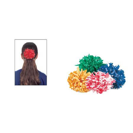 Getz Plastic 2 Color Mix Ponytail Poms