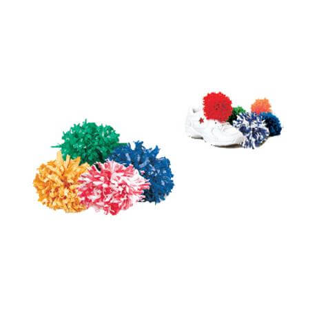 Getz Plastic 2 Color Mix Shoe Poms