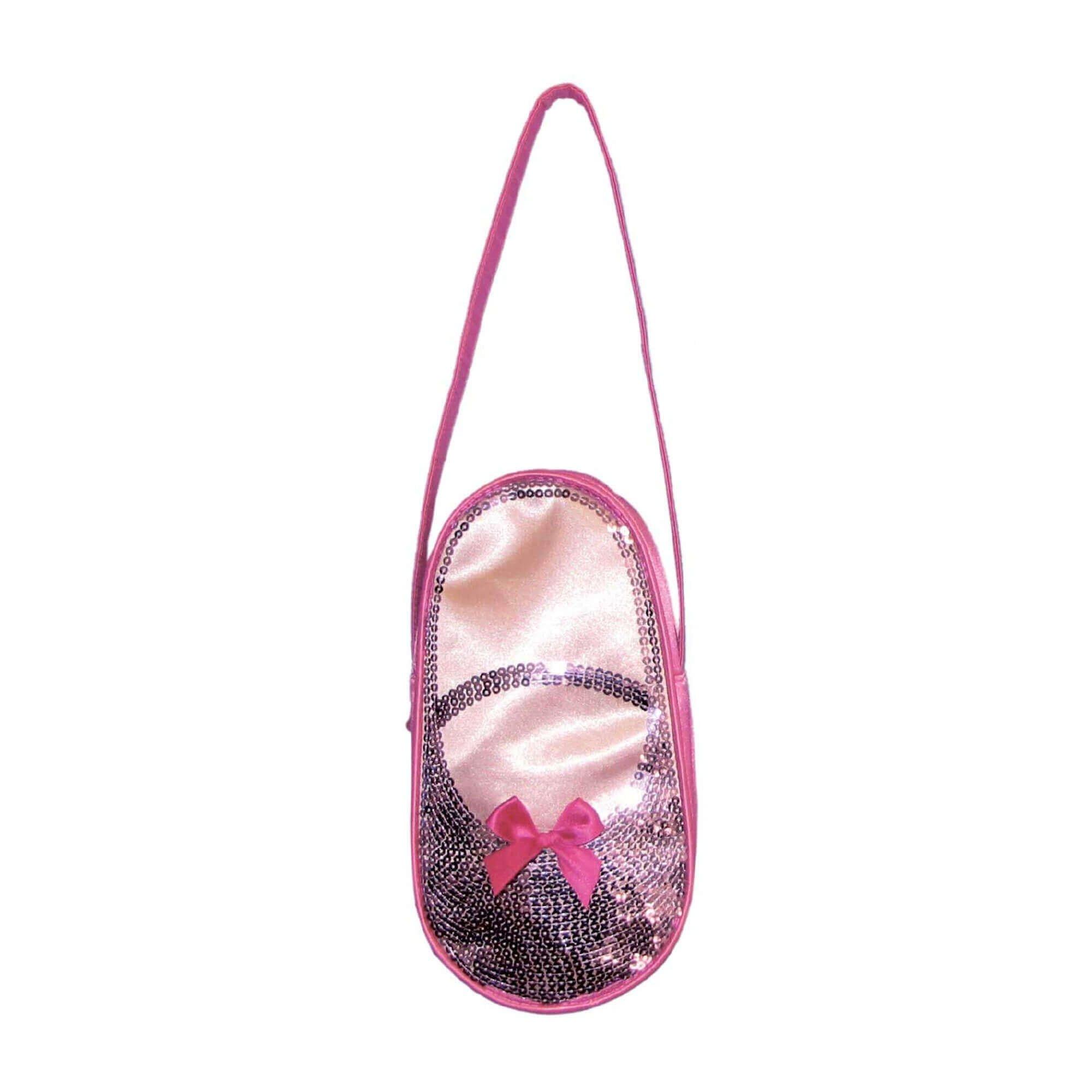 Horizon Dance Satin & Sequins Ballet Shoes Slipper Bag