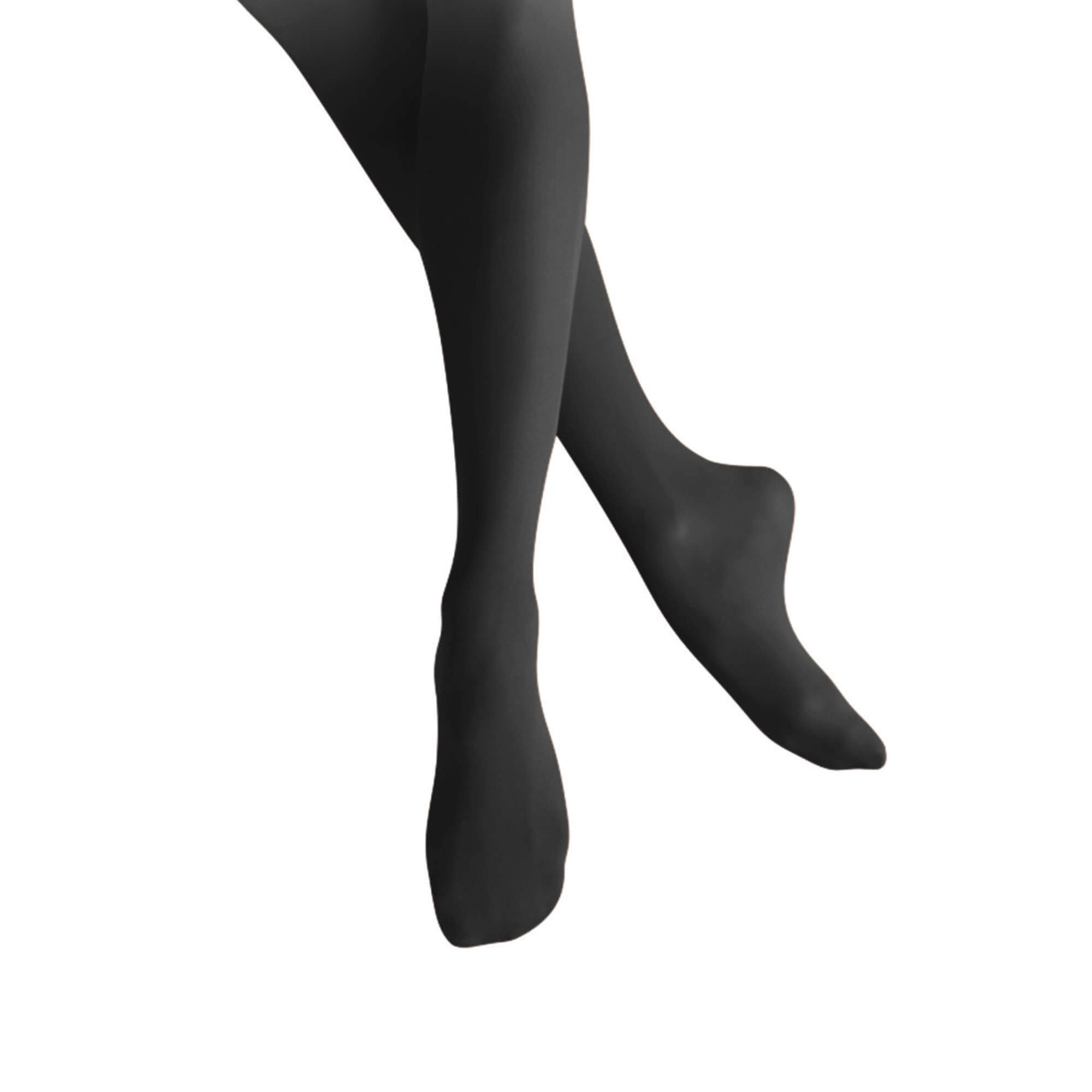 Leos Childrens Firm Fit Full Footed Supplex Tights