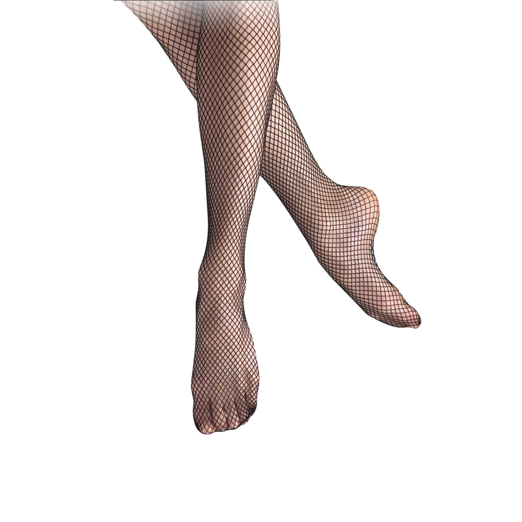 Leos Childrens Economy Seamless Mesh Tights