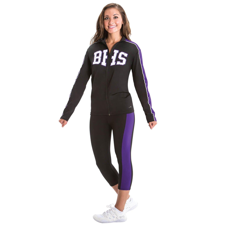 Motionwear Cheerleading Warm-up Stretch Jacket