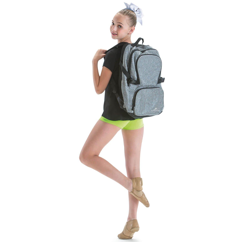 Motionwear Black Sparkle Backpack