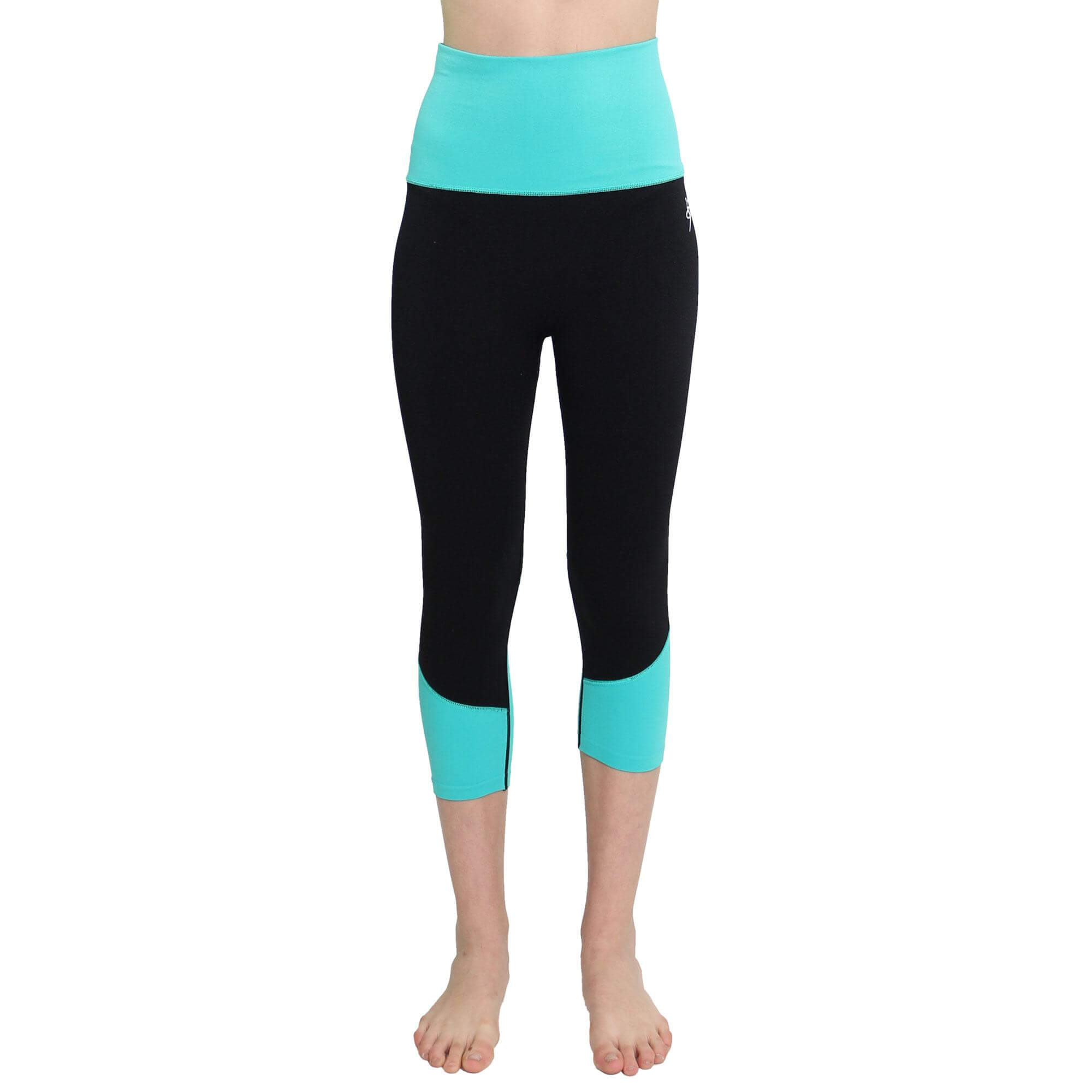 O To S Amazing Sports Dual-color Yoga Capri
