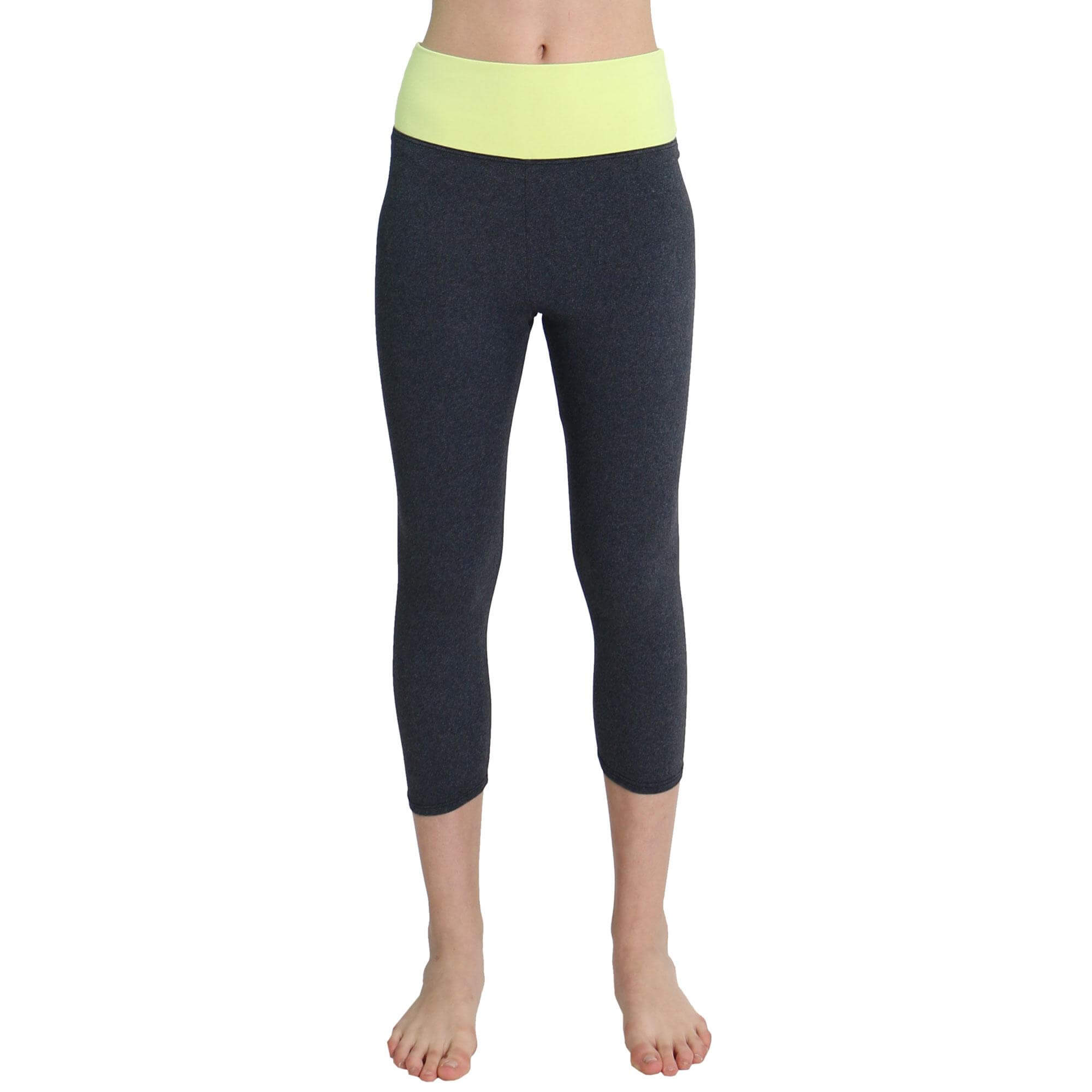 One Step Ahead Suede Supplex Tranquility Capri Leggings