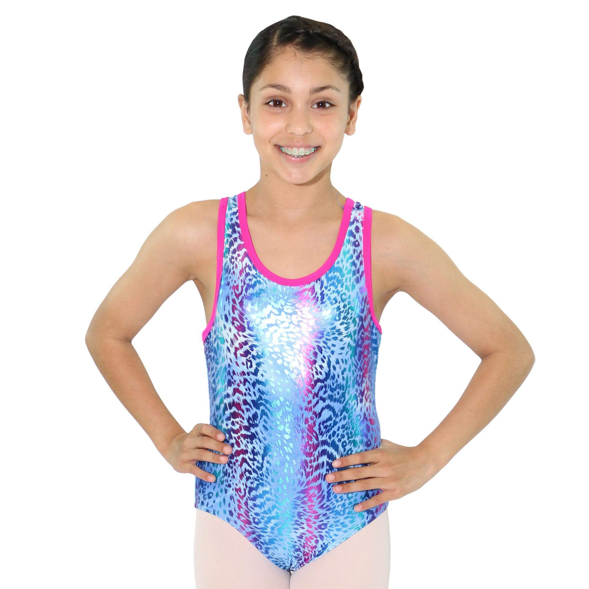 Reflectionz Leopard Leotard