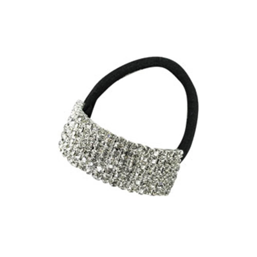 Starlight Child 6-row Crystal Cuff Ponytail Binder