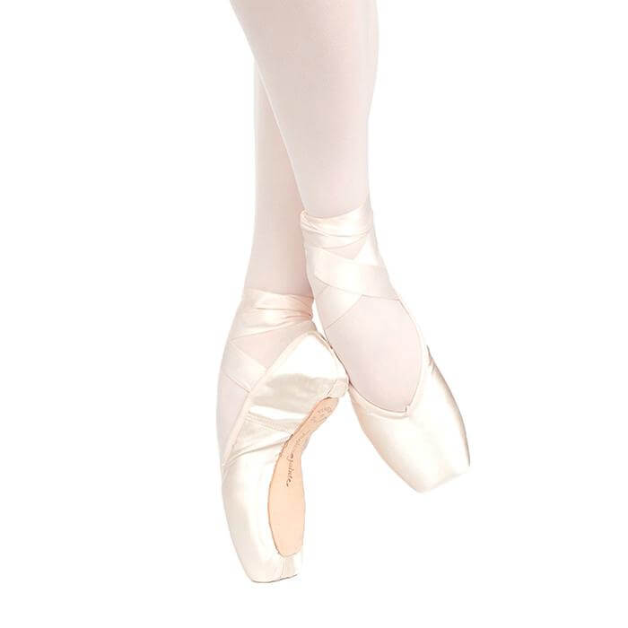 Russian Pointe Brava U-Cut Drawstring Pointe Shoe
