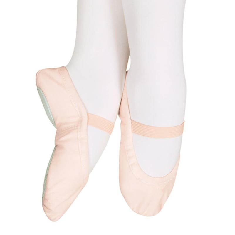 Sansha Star-split Canvas #15c Ballet Child/youth Slipper