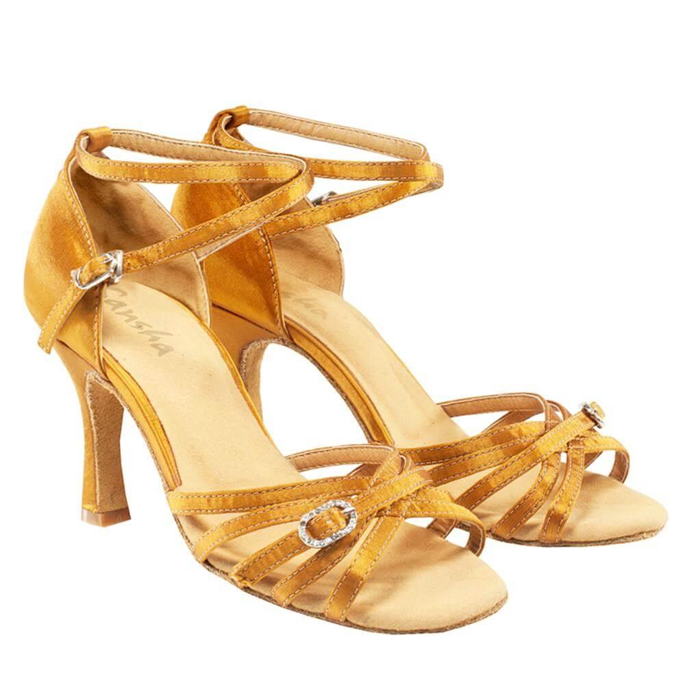 Sansha Br33050s Adult 3.3 Heel Adriana Ballroom Shoe