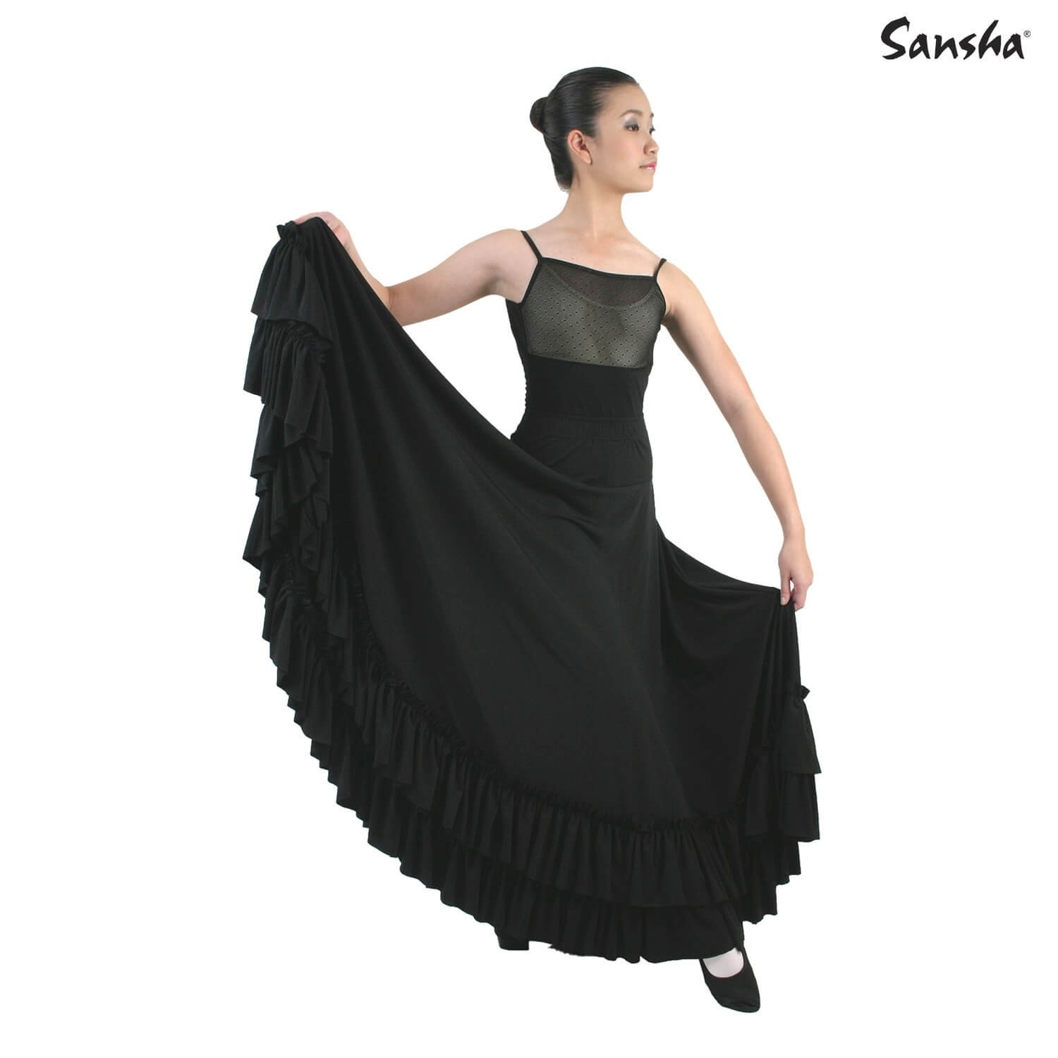 Sansha Flamenco Skirt With Ruffles