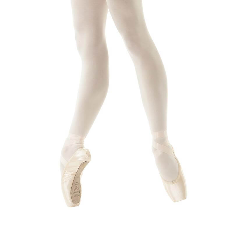 Sansha DEBUTANTE Leather Sole Beginners Pointe Shoes