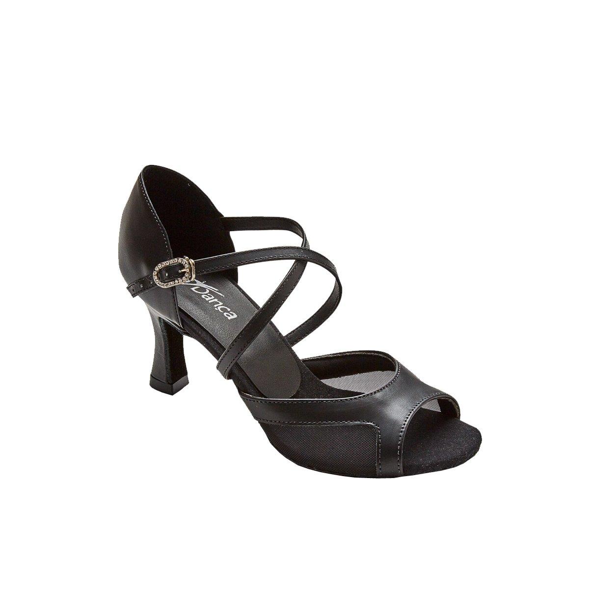 Sodanca Bl-172 Adult Reba Open Toe Ballroom Shoe
