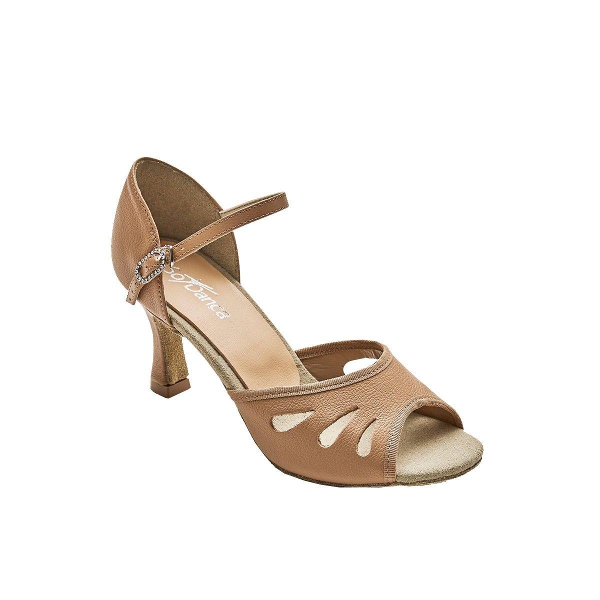 Sodanca Bl-174 Remy Open Toe Ballroom Shoe