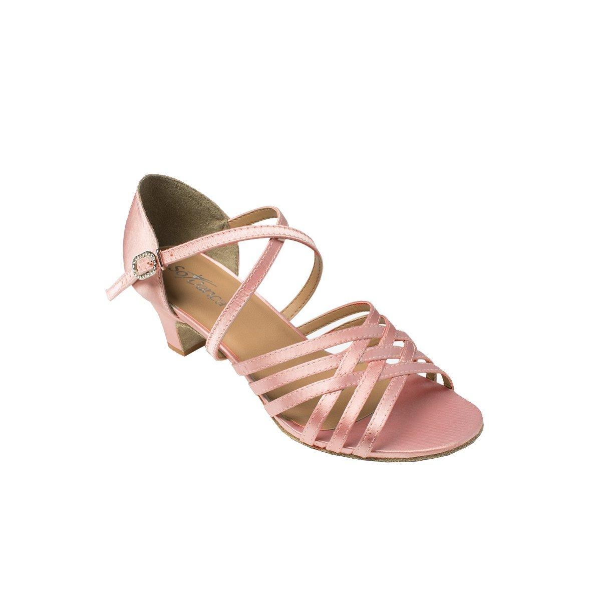 Sodanca Bl-180 Adult Rabah Satin Ballroom Shoe