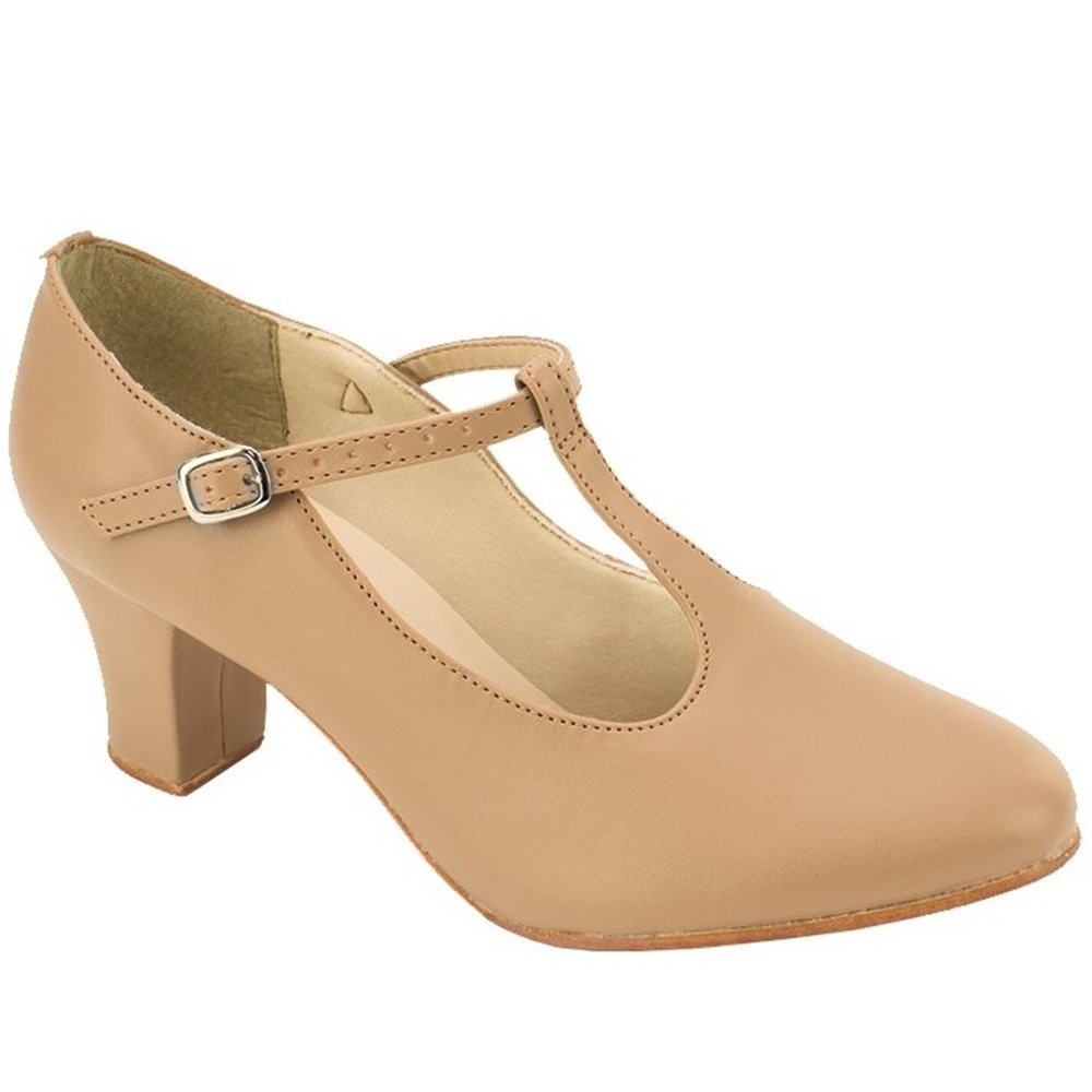 Sodanca Ch-40 Adult Chrissie 2 Heel T-strap Character Shoe
