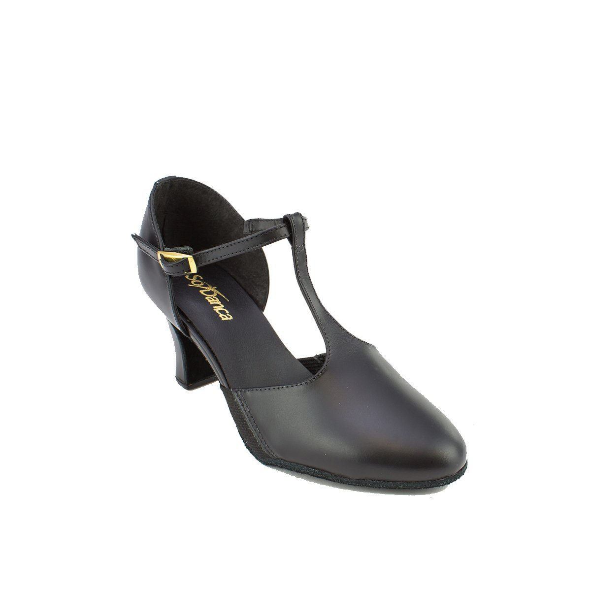 Sodanca Ch-57 Connie 2.5 Heel T Strap Character Shoe