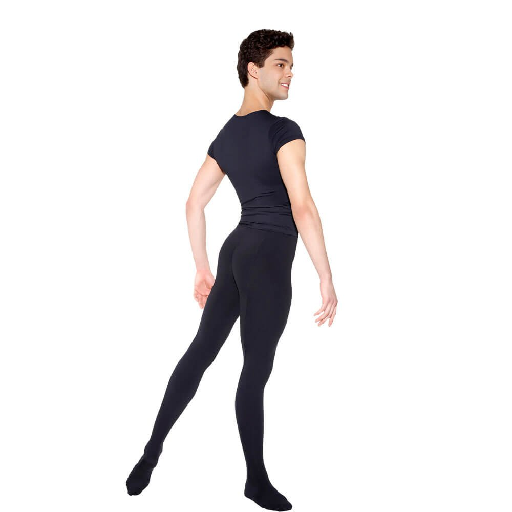 Sodanca Mens Seamed Opaque Tights