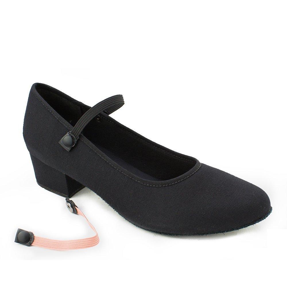 Sodanca Ro-42 Adult Matilda 1.25 Cuban Heel Canvas Character Shoe