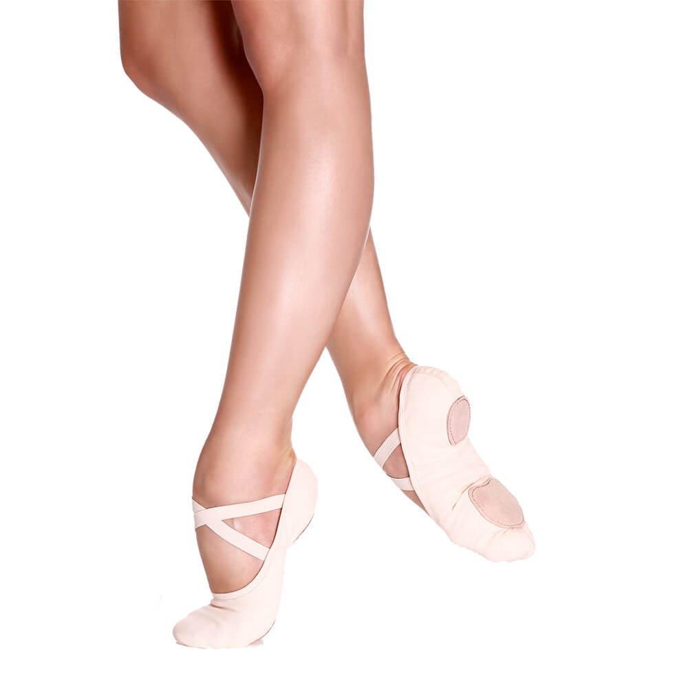 Sodanca Sd-16 Adult Bliss Stretch Canvas Ballet Slippers