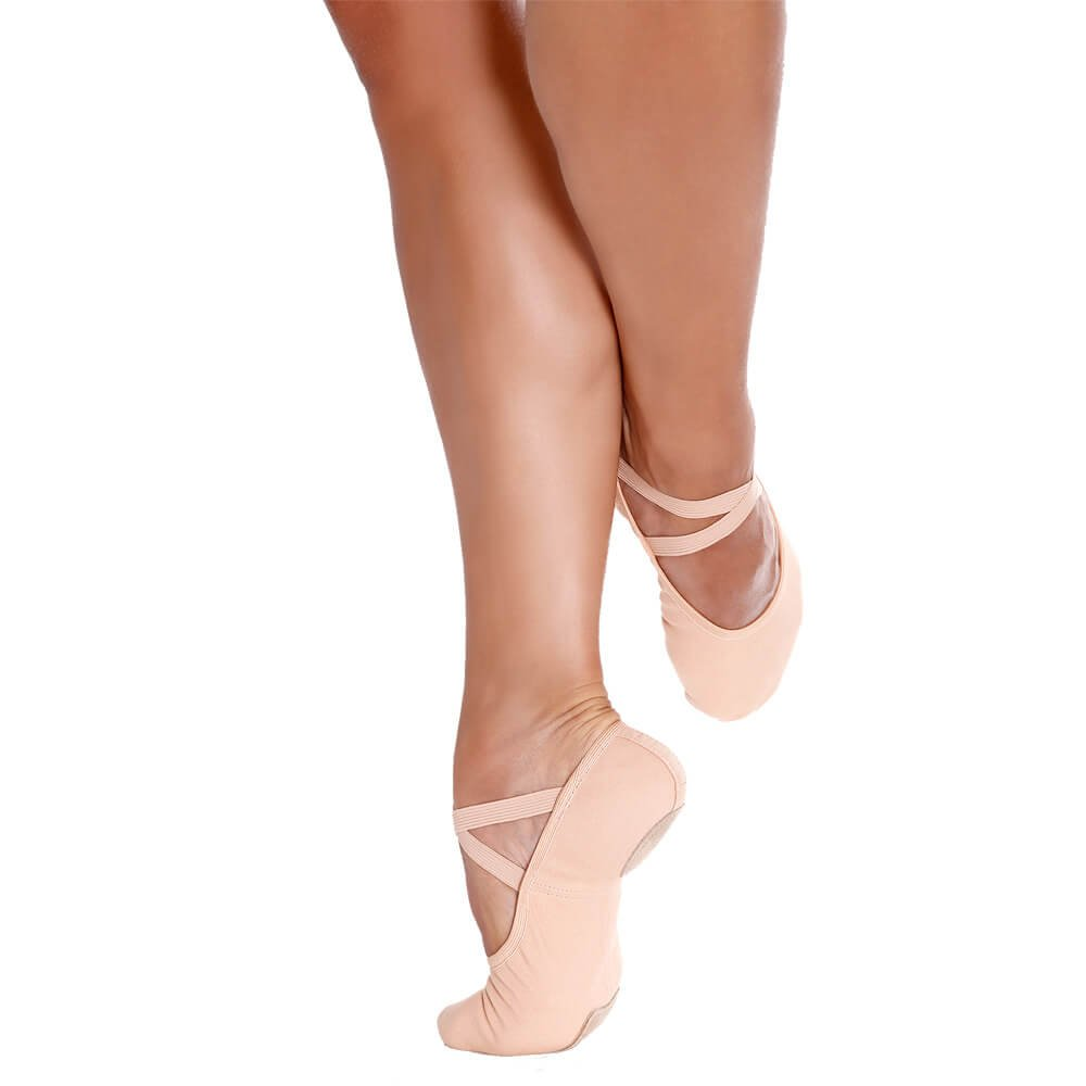 Sodanca Sd-18 Adult Bali Stretch Canvas Ballet Slippers