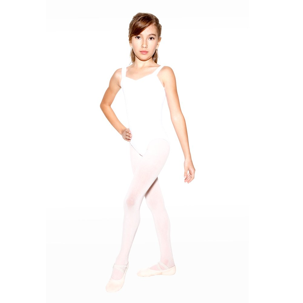 Sodanca Child Wide Strap Leotard With Princess Seams