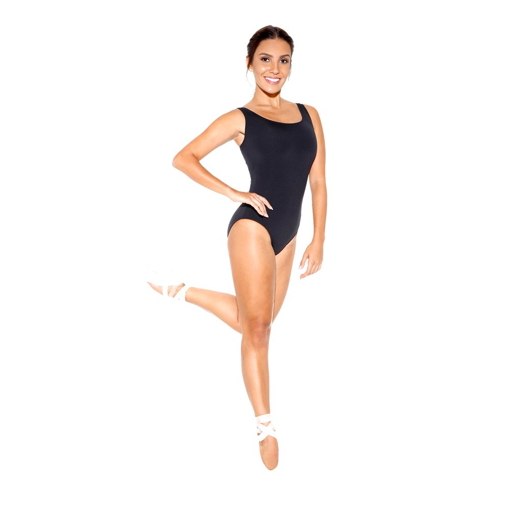 Sodanca Adult Tank Leotard With Scoop Neck