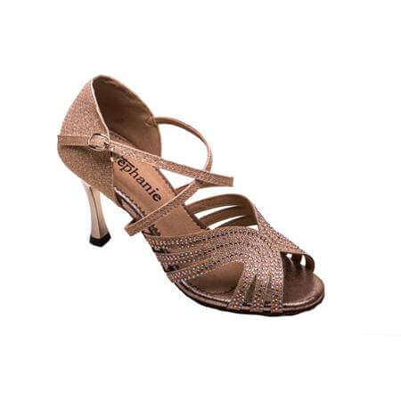 Stephanie Ladies 3 inch Heel Dance Shoes