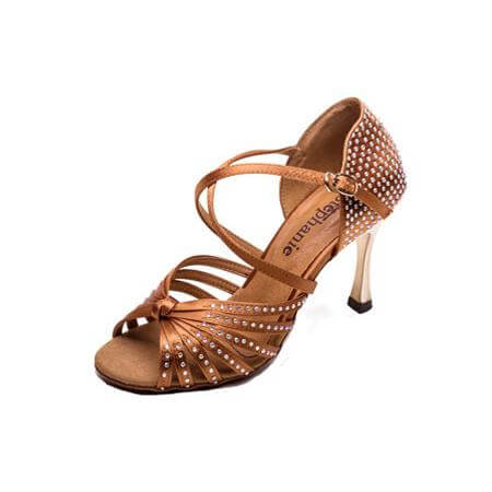 Stephanie Ladies 2.5 inch Heel Dance Shoes