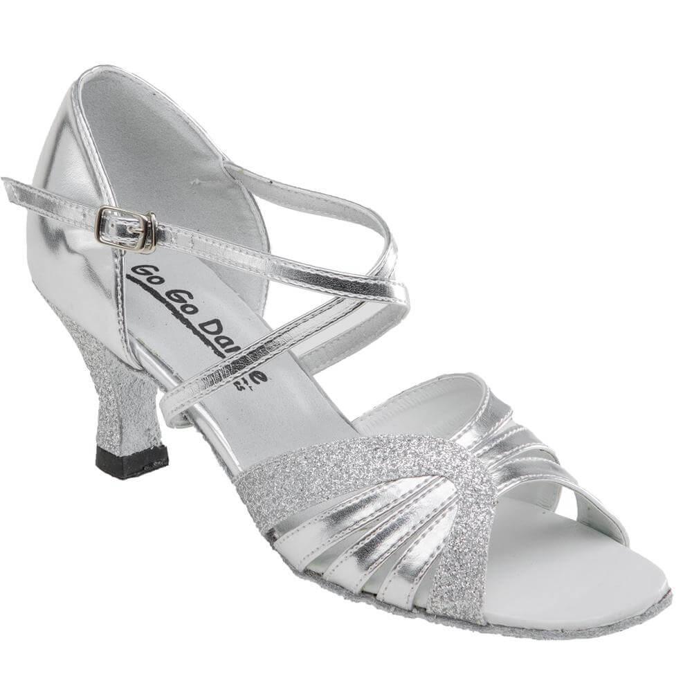 Gogo Ladies 2.5 Heel Latin And Ballroom Shoes