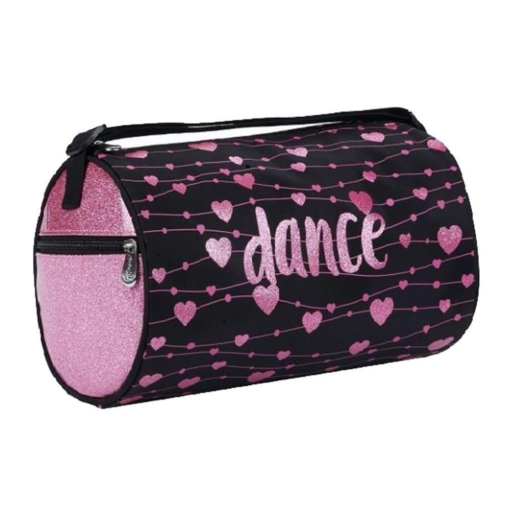 Sassi Pink Hearts Sparkle Bag