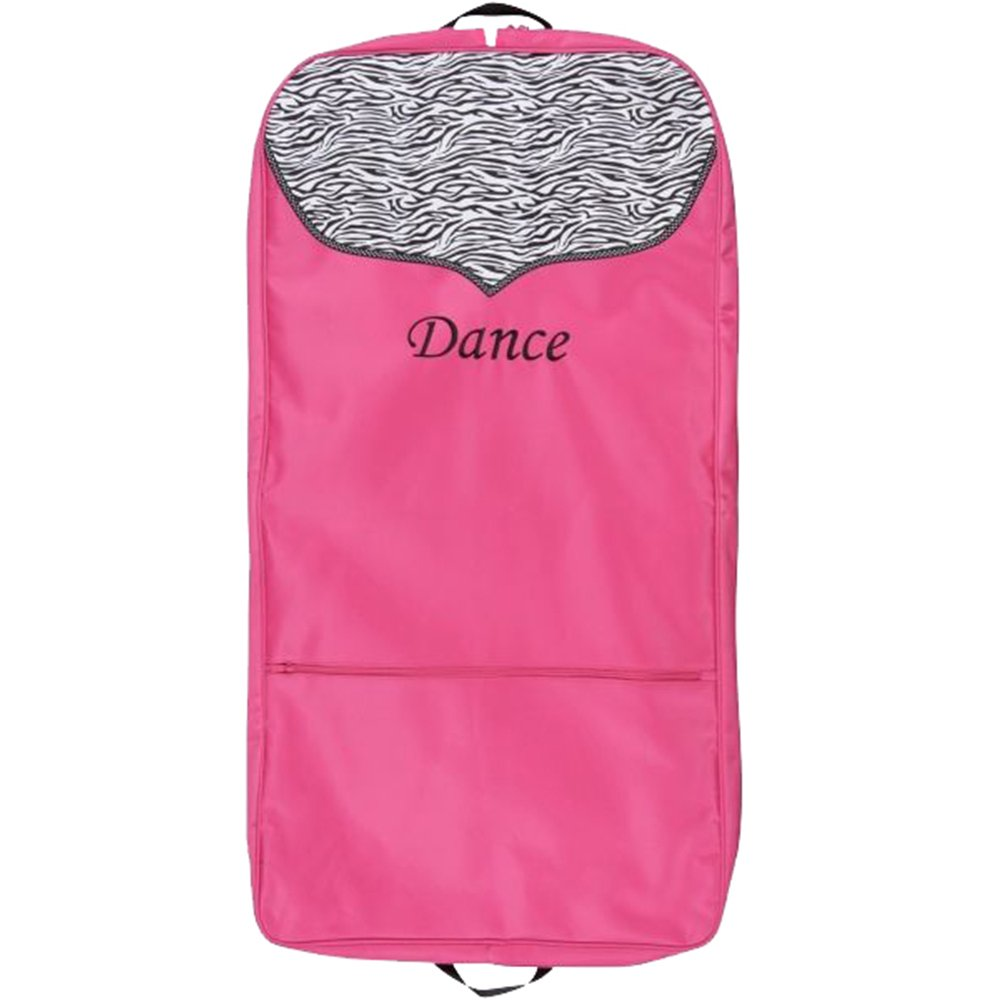 Sassi Hot Pink With Zebra Tri Bag
