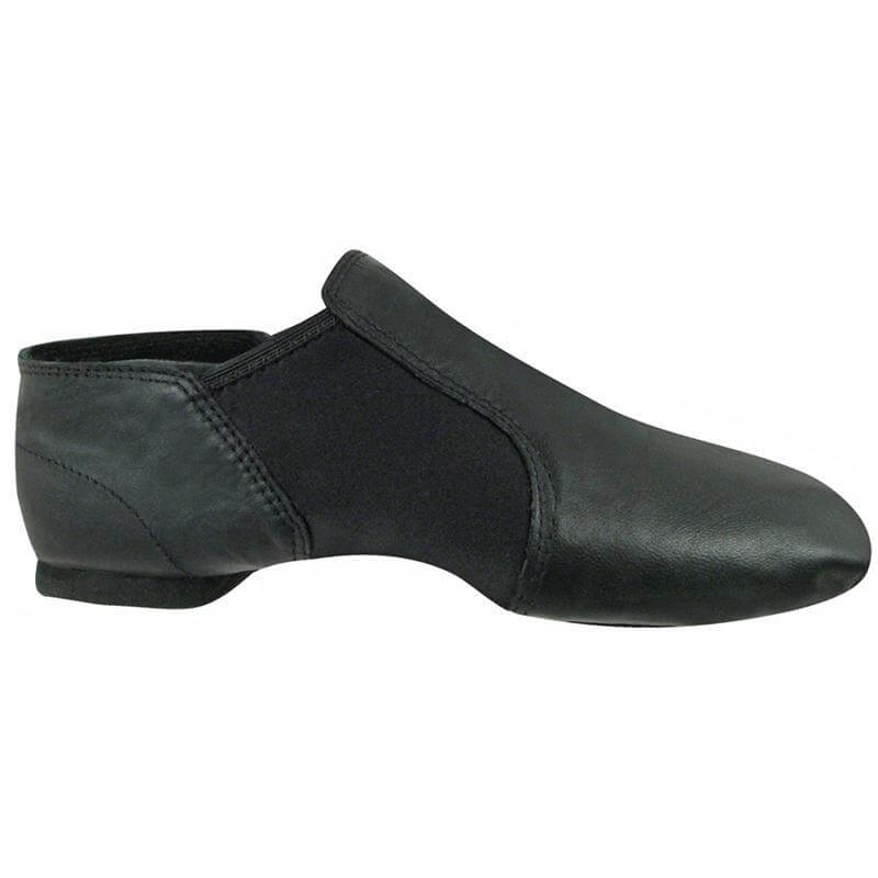 Dance Class Child Leather Slip-On Gore Jazz Boots