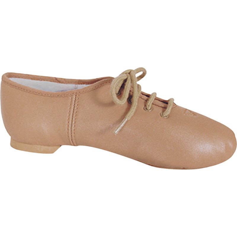 Dance Class Child Nude Tan Leather Split Sole Jazz Shoe