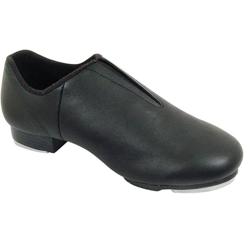Dance Class Adult Leather Split Sole Jazz Tap Shoe