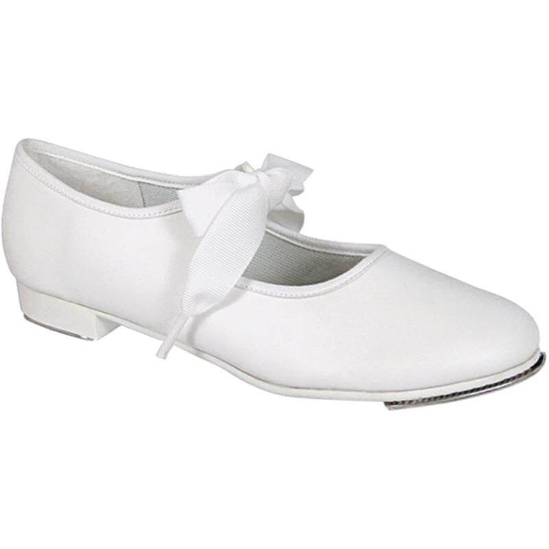 Dance Class Child Leather-like Beginning Tap Shoe
