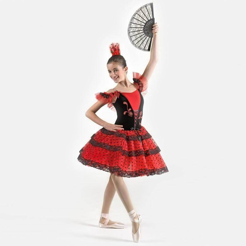 Victoria Dancewear Spanish Rose