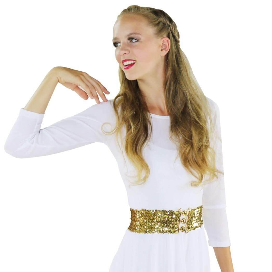 Danzcue Sequin Elastic Belt