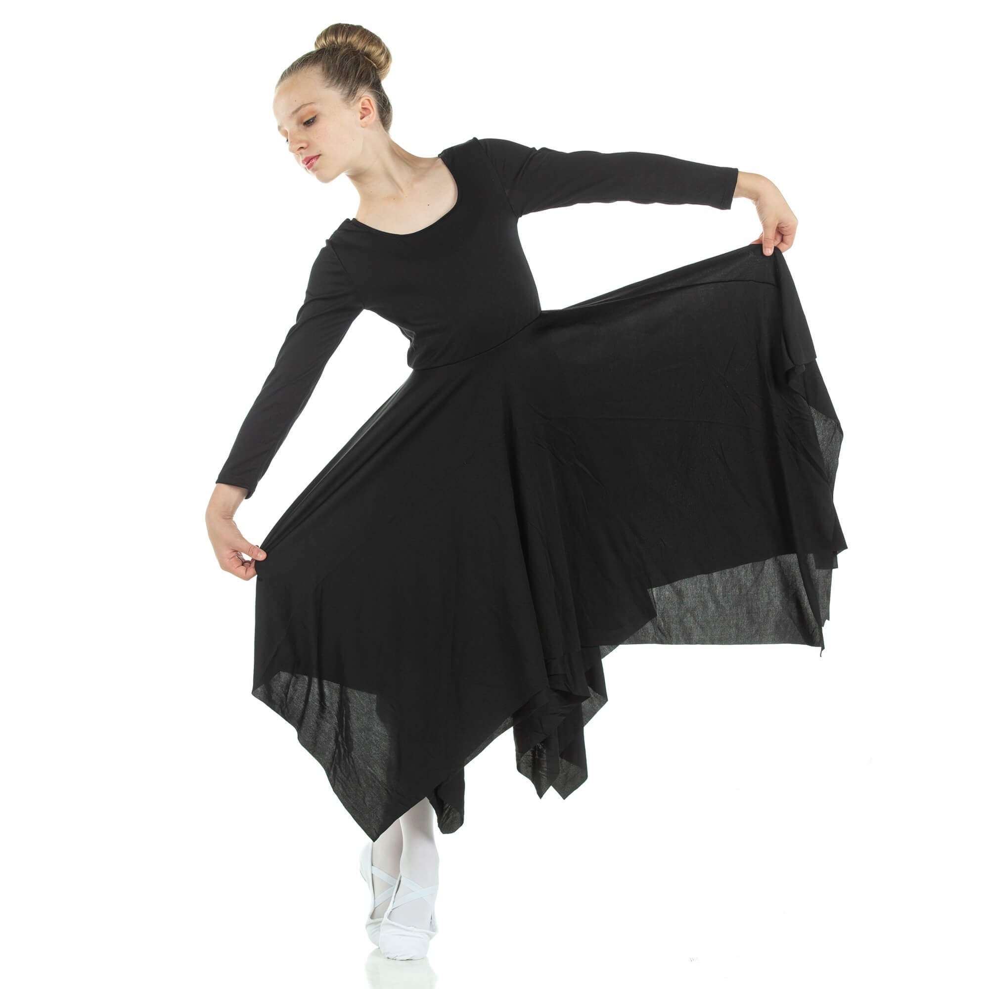 Danzcue Celebration Of Spirit Long Sleeve Child Dance Dress