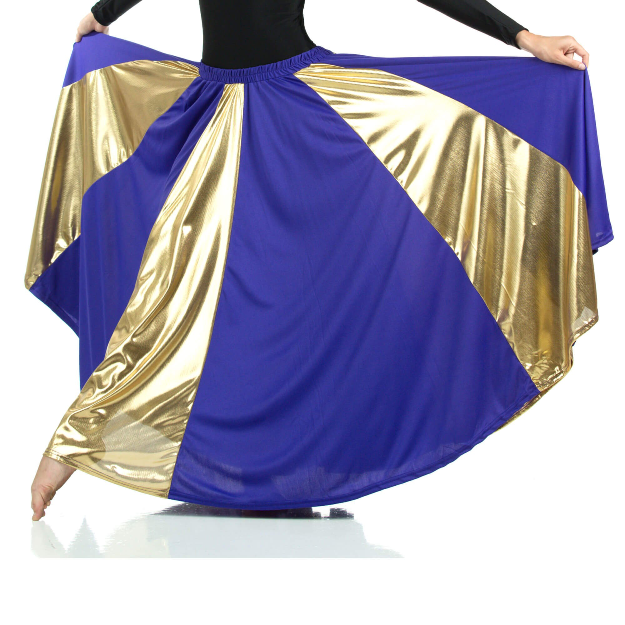 Praise Dance Long Circle Skirt