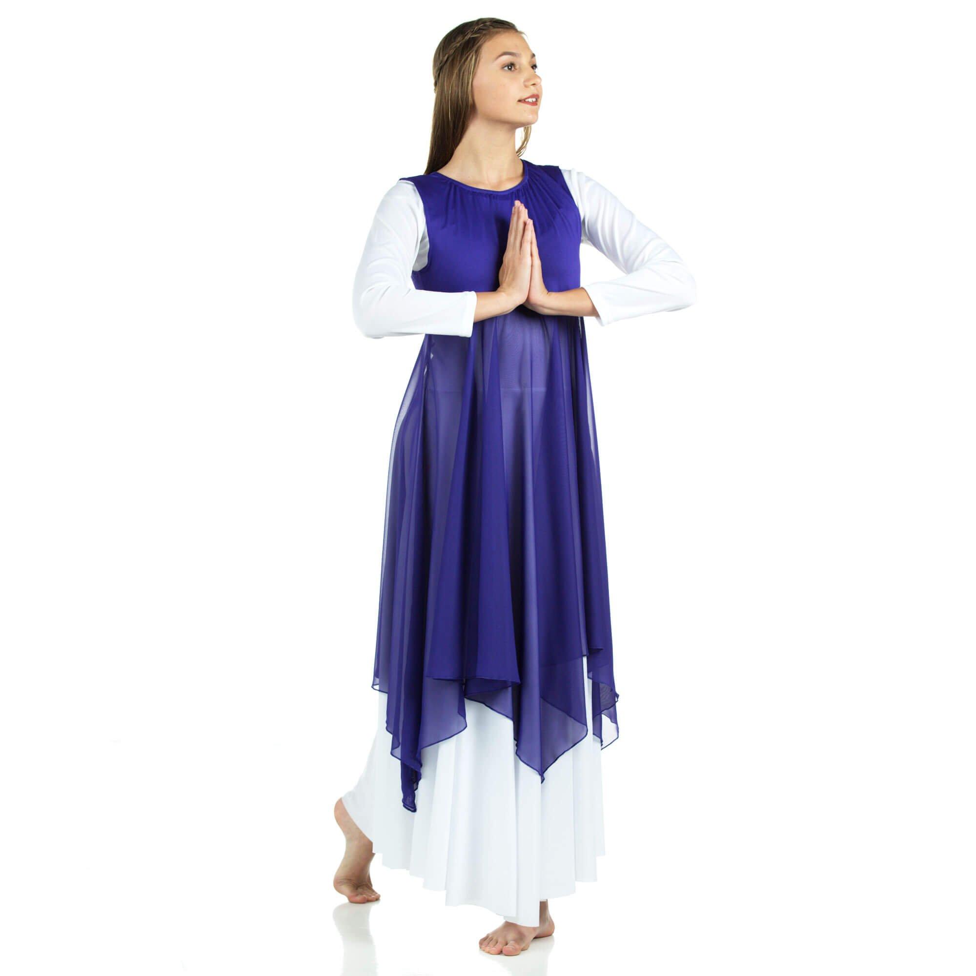 Danzcue Praise Dance Pullover Vest